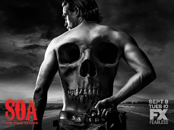 Sons of Anarchy affiche saison 7