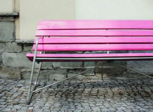 pink-bench-bara-free-stock-photo