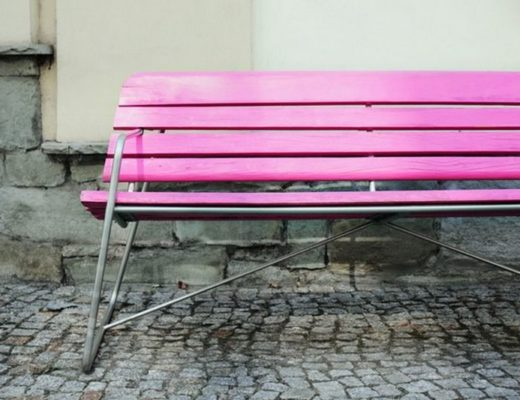 pink-bench-bara-free-stock-photo