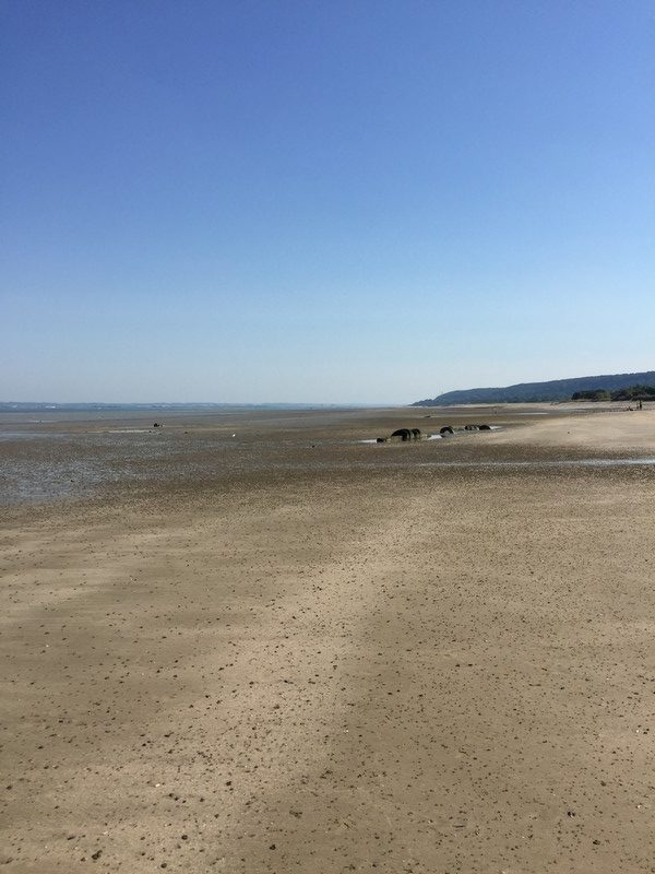 plage Cricqueboeuf normandie