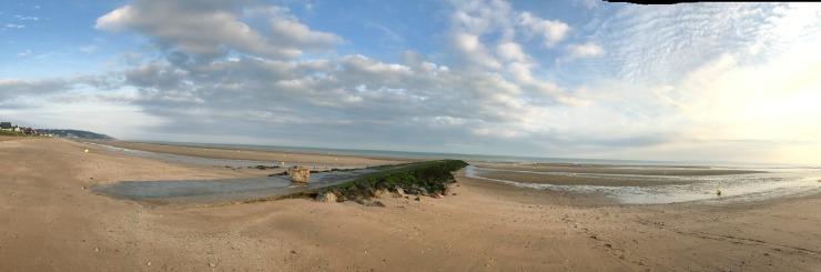 Diaporama plage Blonville sur mer au matin