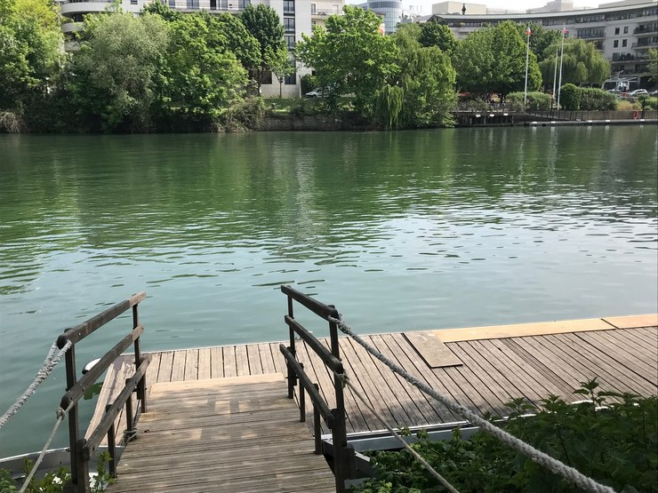Promenades en bords de Seine - Ile de Chatou