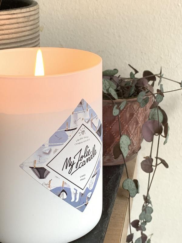 My Jolie Candle senteur linge frais