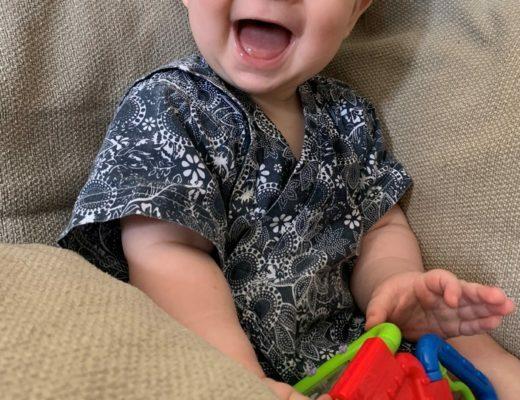 si beau sourire de mon bébé