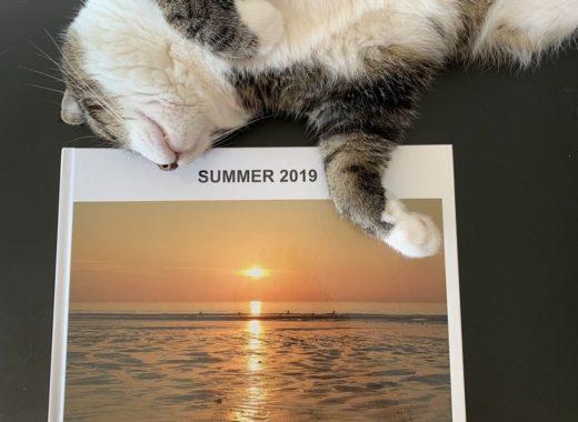 Livre photo passion Myfujifilm et notre chat Lucky