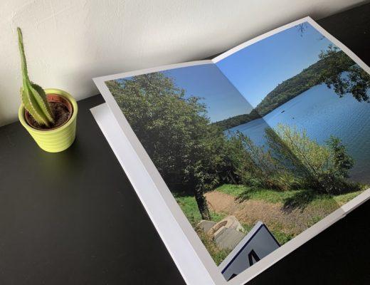 Une Semaine au Lac d'Aydat en Livre Photo