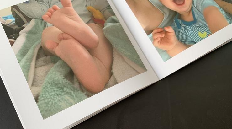 photos de bebe album mini tipii
