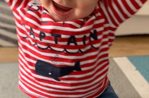 sourire de mon bébé