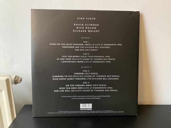double album best of vinyl Pink Floyd par Warner