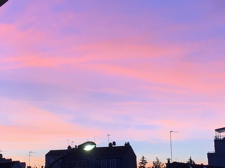 lever de soleil asnieres sur seine fin 2019