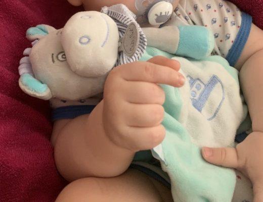 doudou ane picotin etiquette calin bebe
