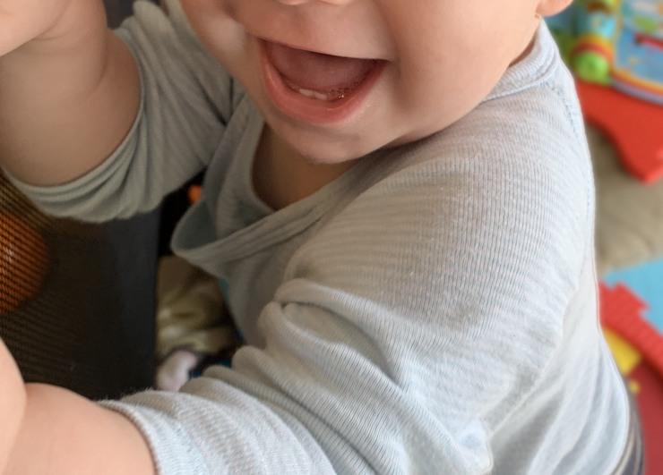 dents de bébé sourire de bébé