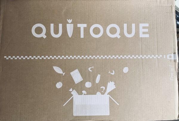 carton commande produits frais quitoque