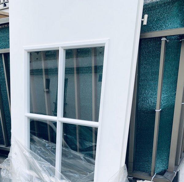 porte blanche vitrée occasion