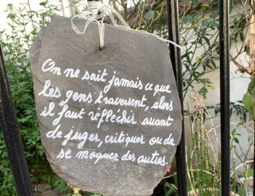 citation sur ardoise rue mauriceau asnieres sur seine