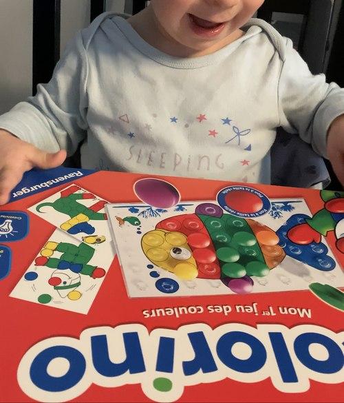 jeu colorino pour son anniversaire