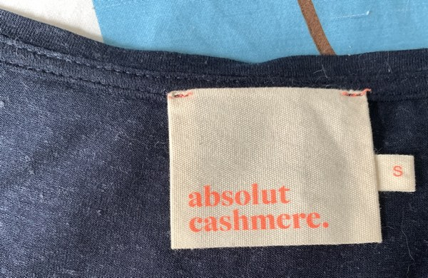 taille S tshirt laetitia ABSOLUT CASHMERE