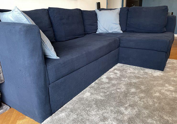 housse de canapé d'angle homemade