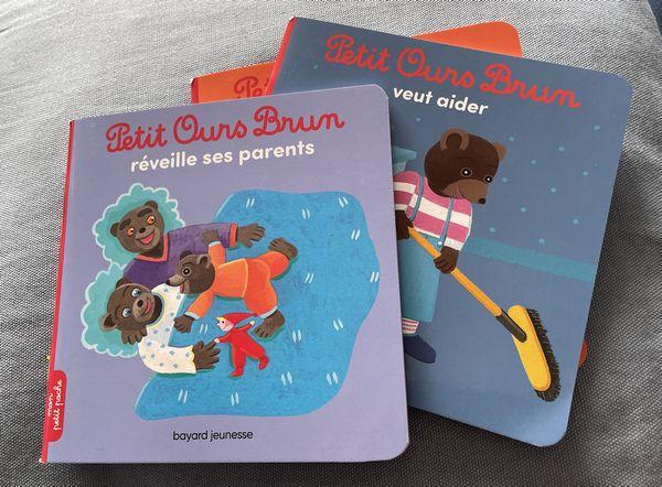 plusieurs livres petit ours brun - bayard presse